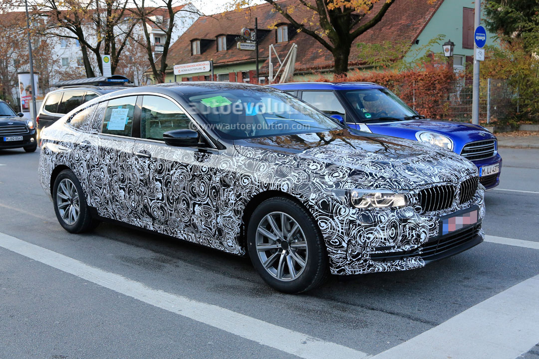 Bmw Serie 6 Gran Coupe 2018 >> 2018 BMW 6 Series GT Sheds Camo, Reveals Body Shape and Lights - autoevolution