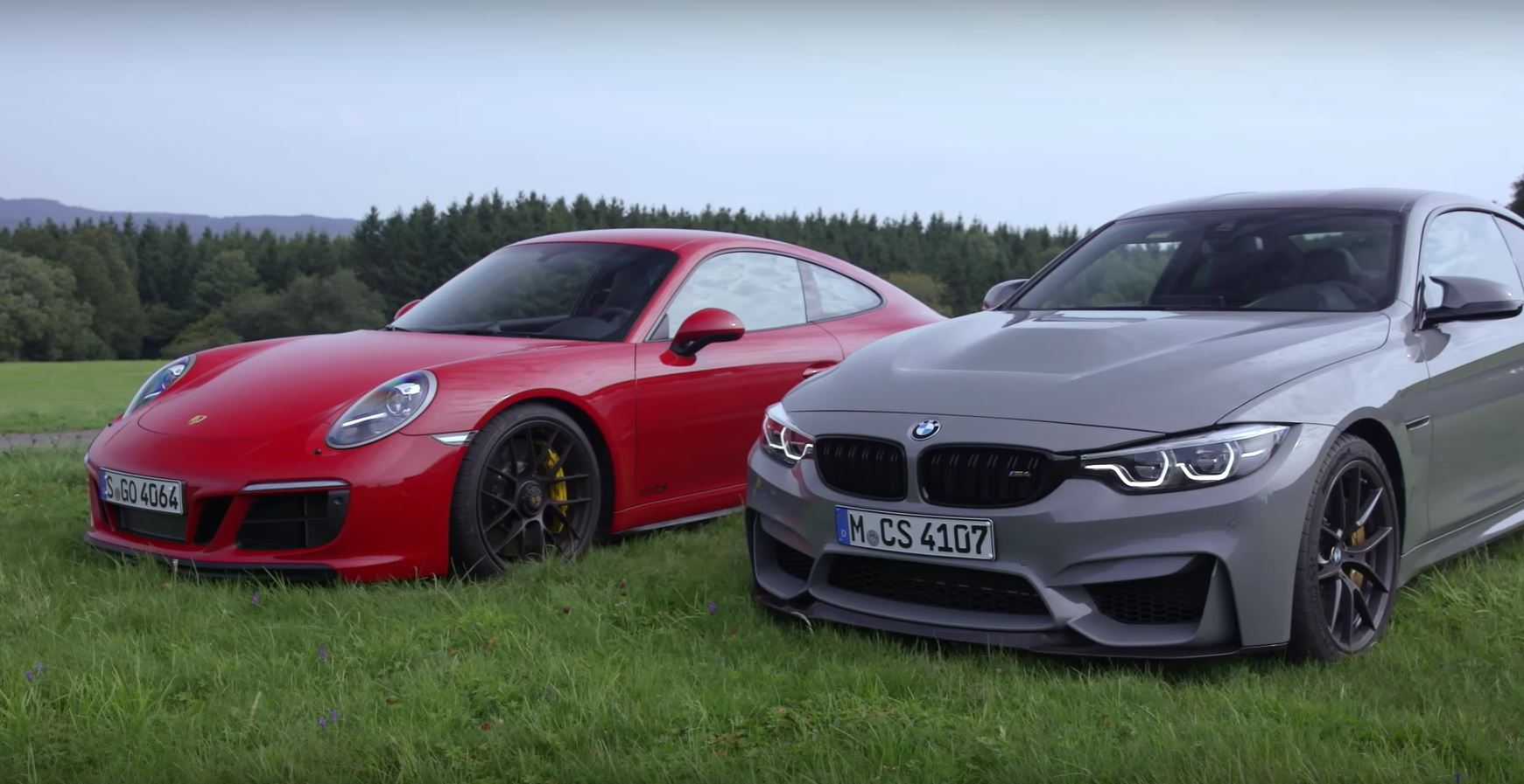 2018 Bmw M4 Cs Vs Porsche 911 Gts Is A Nurburgring Holiday