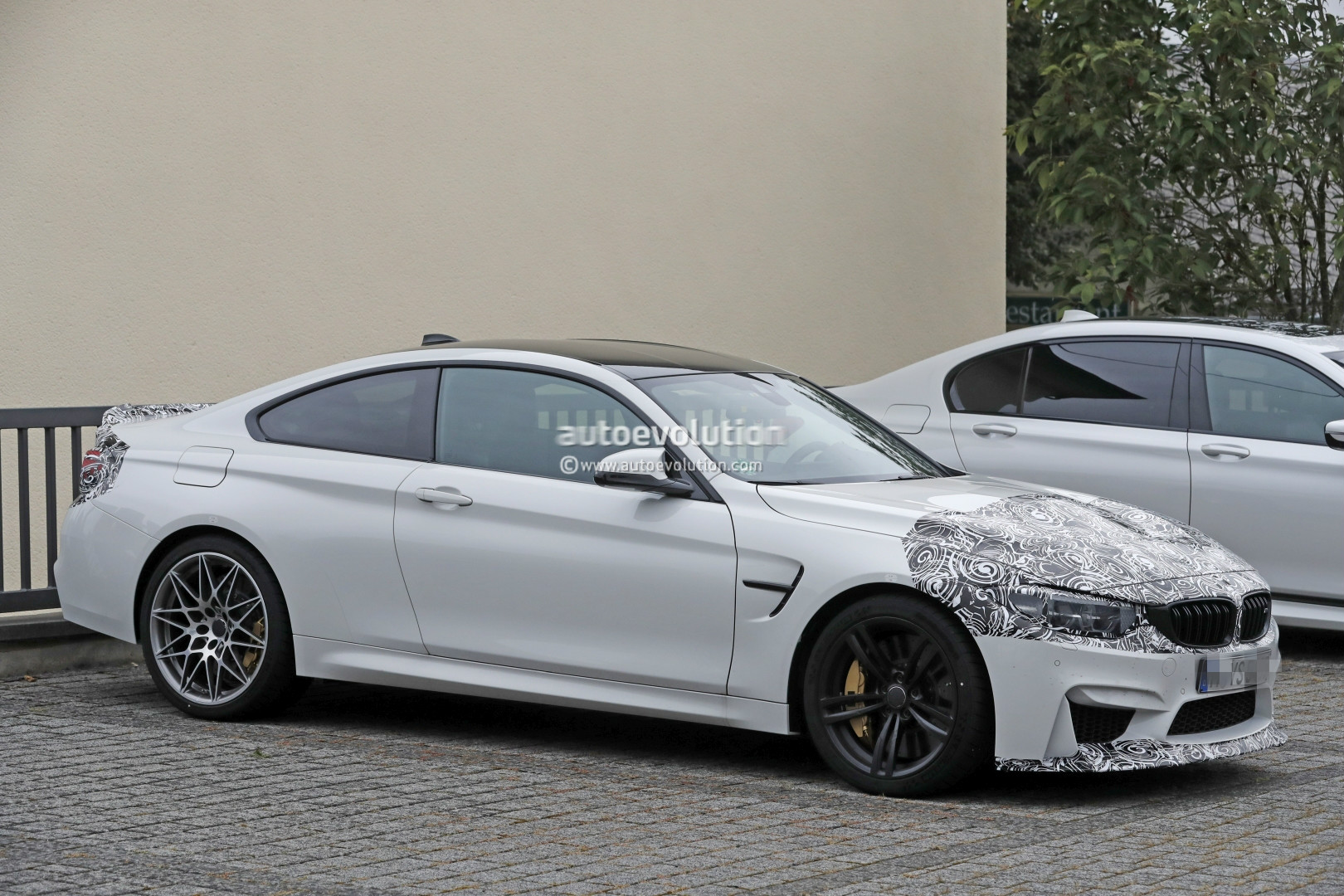 2018 Bmw M4 Facelift Cs Special Edition Spied Shows Aggressive