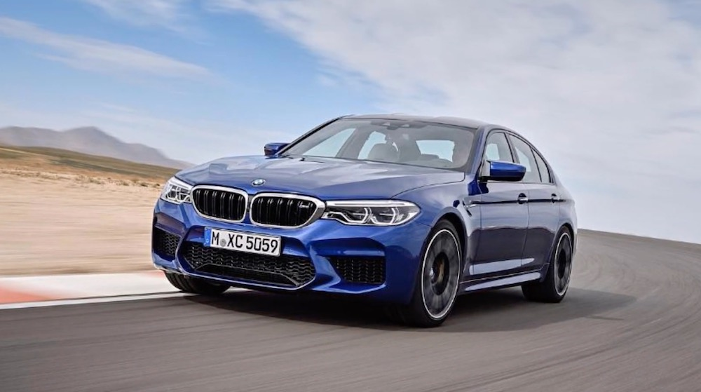 BMW M5 debuts with 600 horsepower, all-wheel-drive