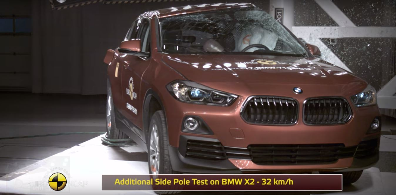2018 Bmw X2 Doesn T Mirror X1 In Euro Ncap Crash Tests Gets 5 Star