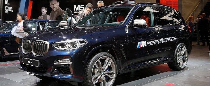 2018 BMW X3 M40i Marks the Start of a New Era in Frankfurt - autoevolution