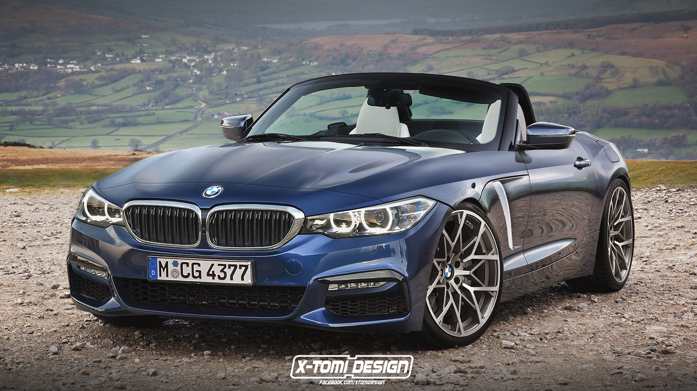 2018 Bmw Z4 G29 Rendering Mirrors The 5 Series Design