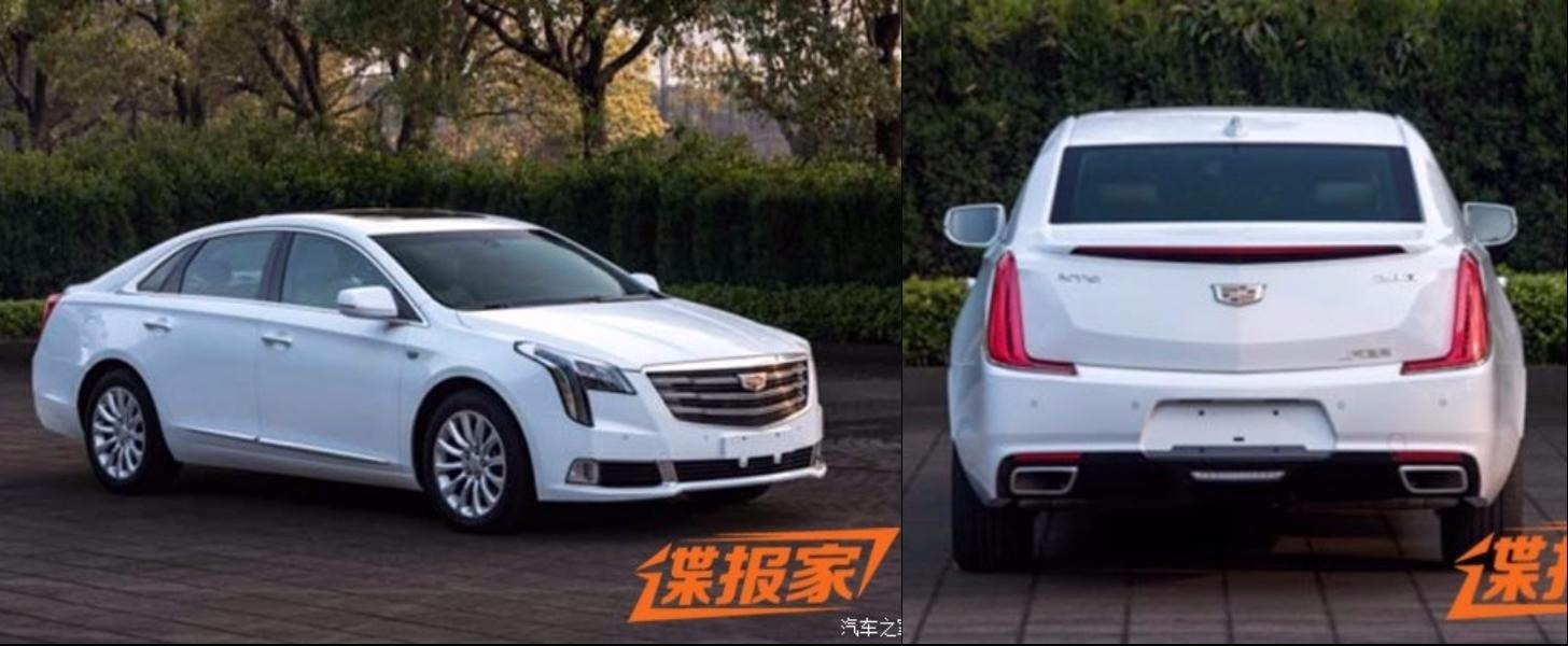 2018 Cadillac XTS Leaked In China - autoevolution