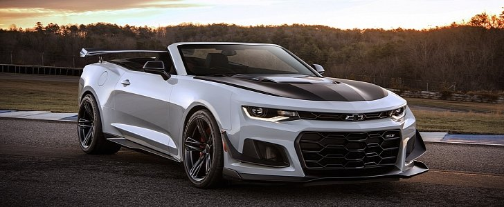 2018 chevrolet camaro zl1 1le imagined as a convertible autoevolution. Black Bedroom Furniture Sets. Home Design Ideas