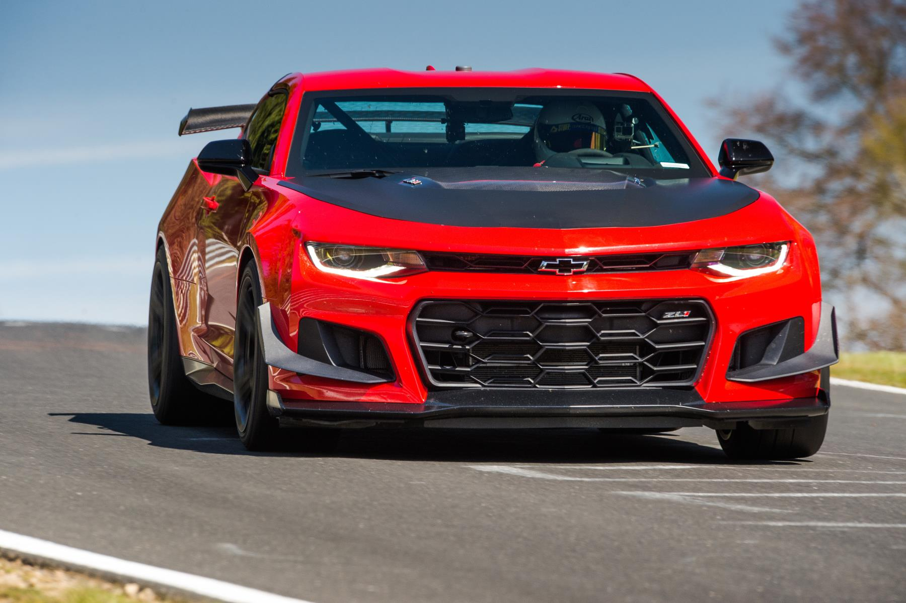Chevy Camaro ZL1 1LE laps the 'Ring in 7:16.04