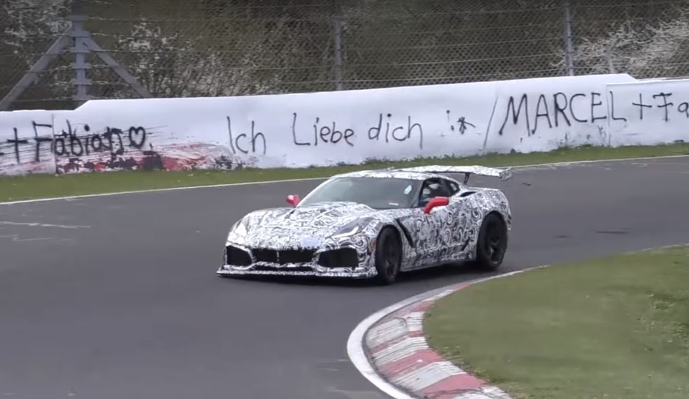 2018 Chevrolet Corvette Zr1 Could Lap Nurburgring In Under