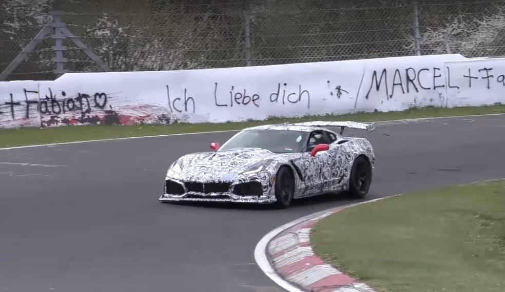 2018 Chevrolet Corvette Zr1 Could Lap Nurburgring In Under