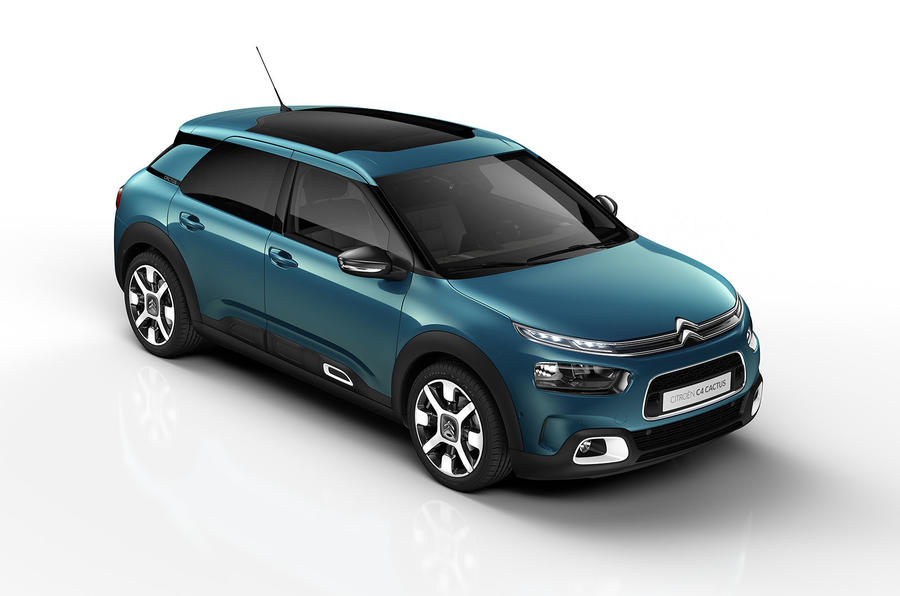 2018 citroen c4 cactus gets progressive hydraulic cushion. Black Bedroom Furniture Sets. Home Design Ideas