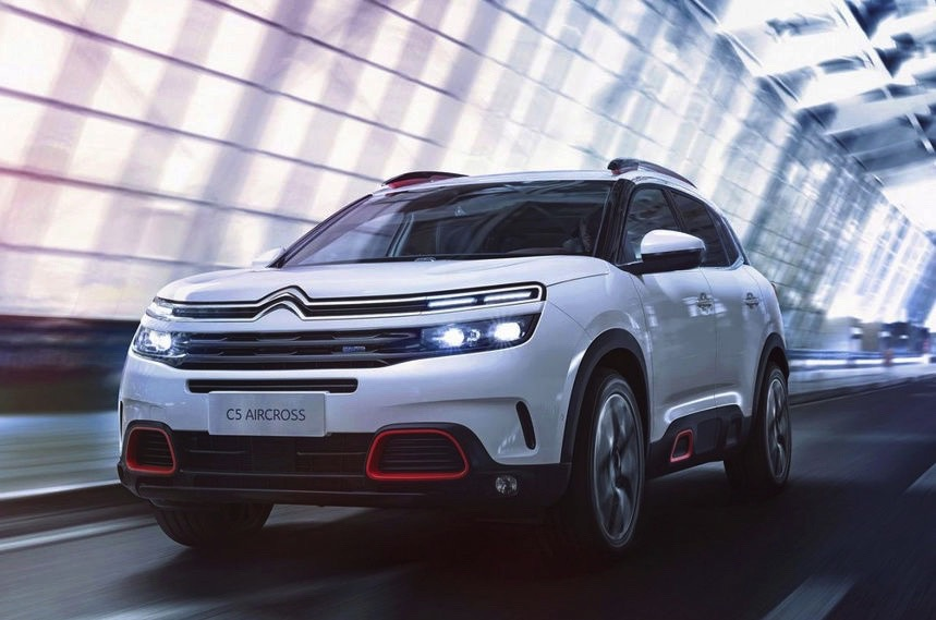 2018 Citroen C5 Aircross Looks Terrific In Leaked Photos Autoevolution