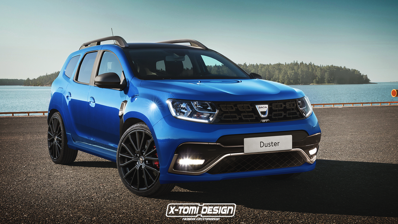 2018 dacia duster gt rendering deserves 200 hp autoevolution for Interieur nouveau duster