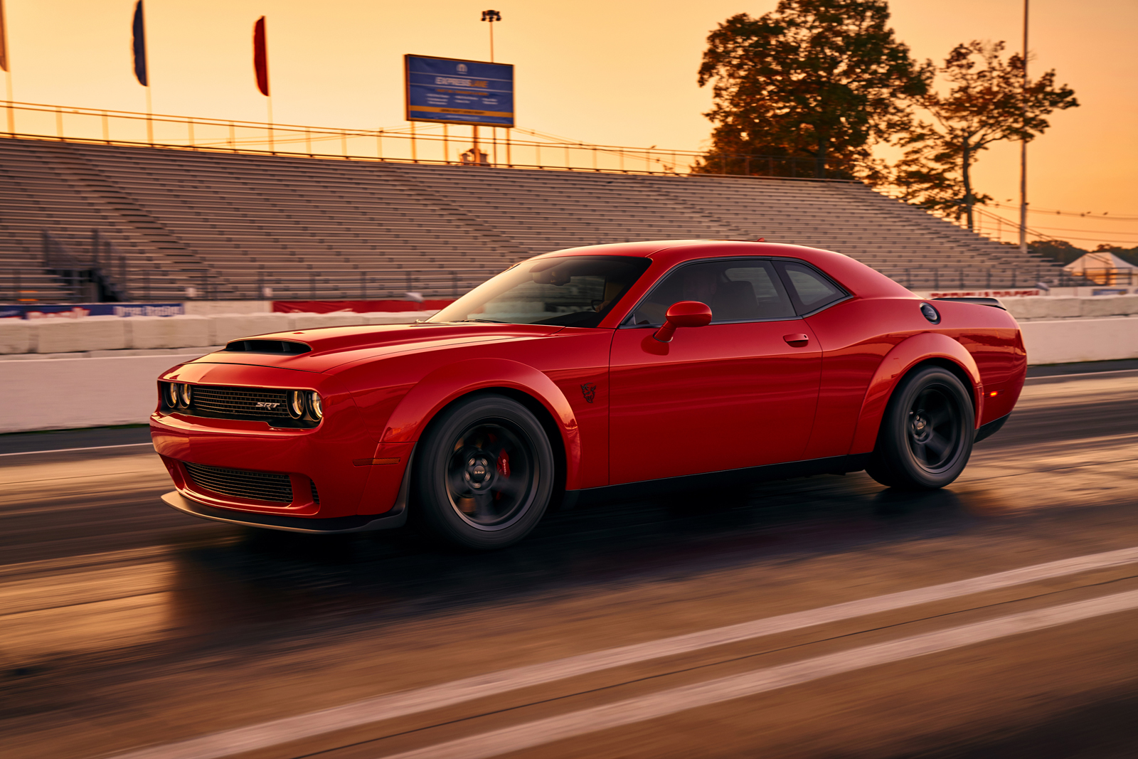 2018 Dodge Challenger Srt Demon Looks Devilish In First Official