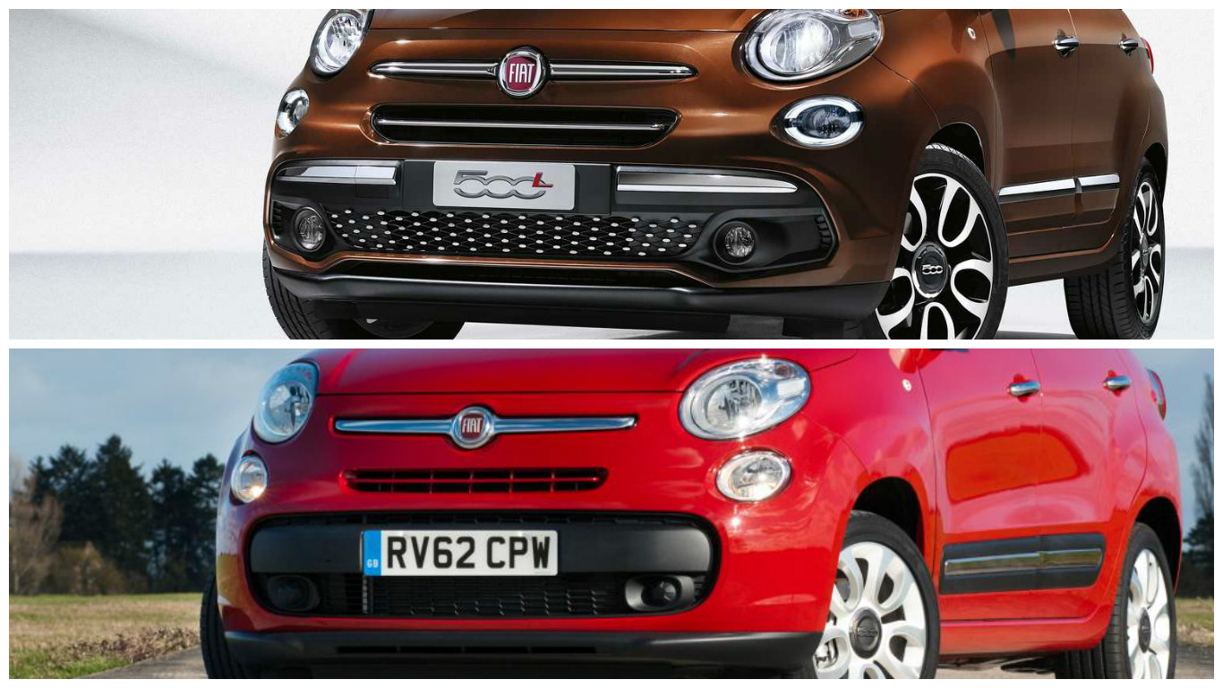 Fiat 500L is now 40 percent new
