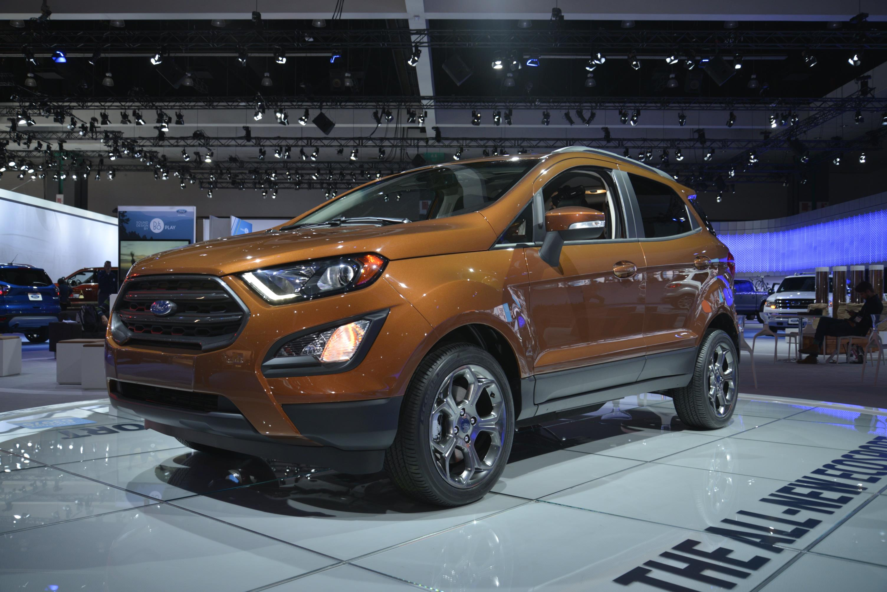 2018 ford ecosport looks ugly as sin in los angeles autoevolution. Black Bedroom Furniture Sets. Home Design Ideas