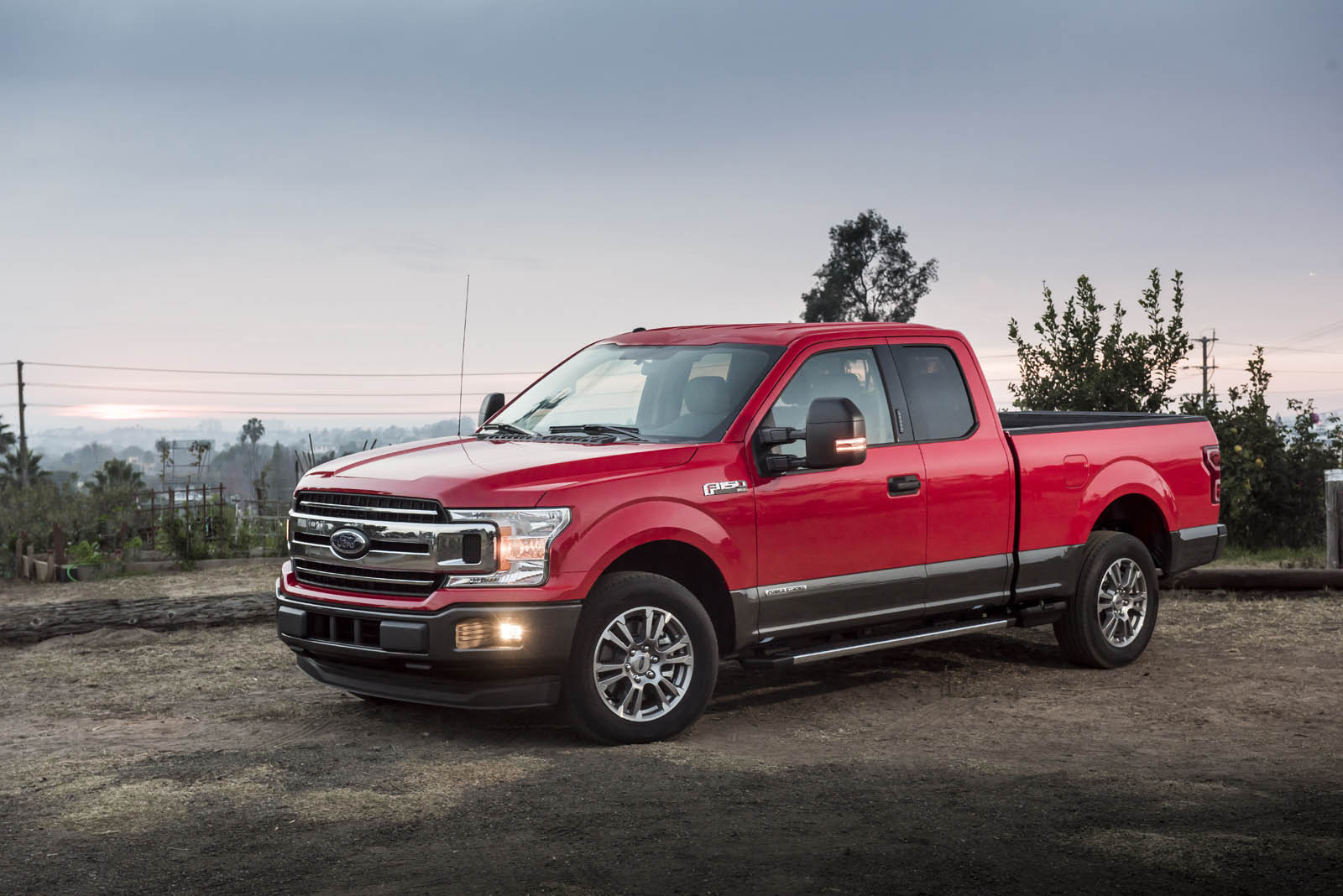 2018 ford f 150 power stroke v6 diesel boasts best in class fuel economy autoevolution. Black Bedroom Furniture Sets. Home Design Ideas