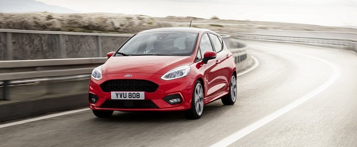 2018 ford fiesta st hot hatch confirmed with fwd driving. Black Bedroom Furniture Sets. Home Design Ideas