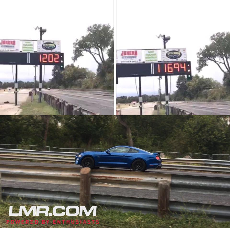 Ford Mustang Gt Pulls   Mile Run S Pass In Sight