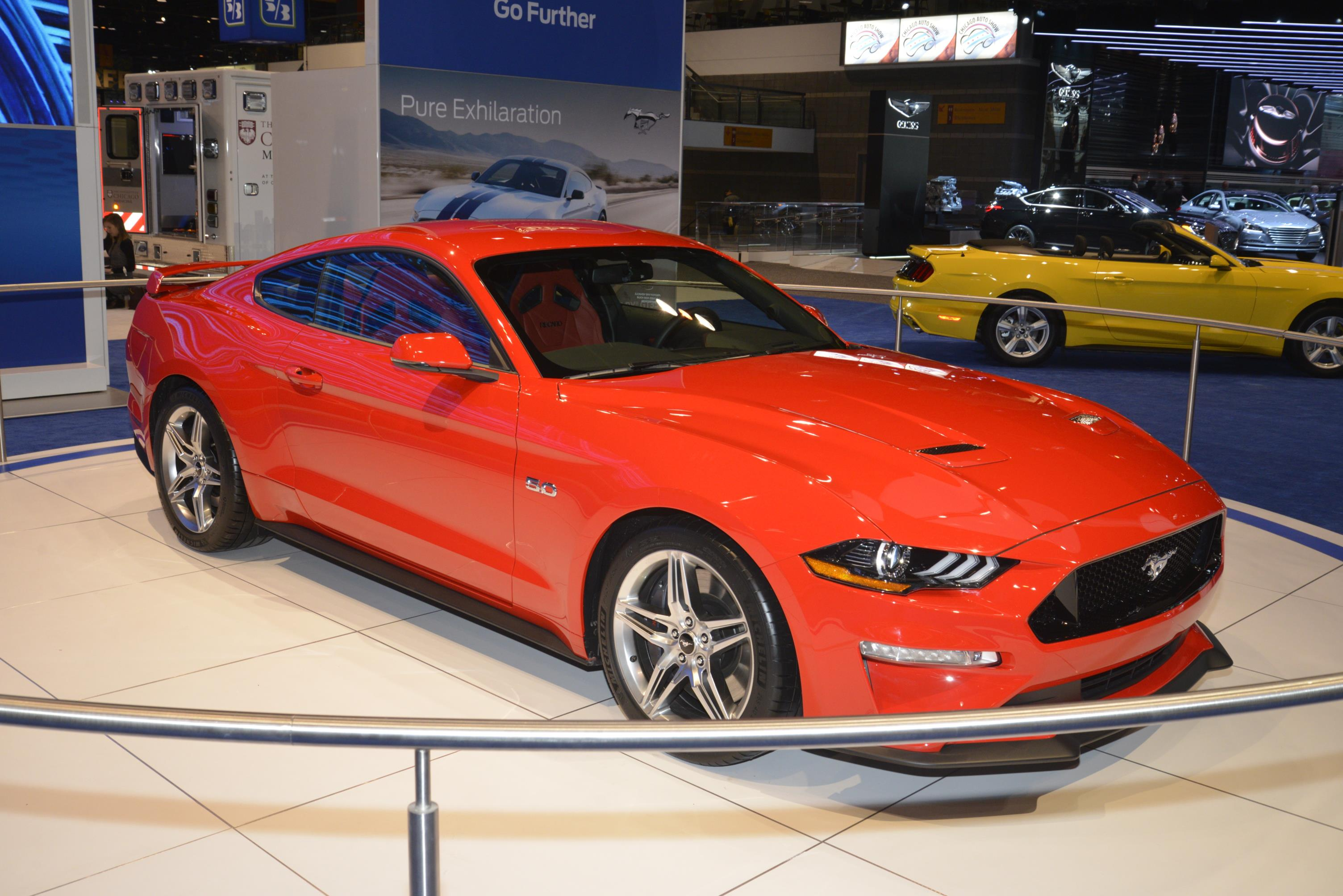 2018 ford mustang is ashamed to show its face in chicago