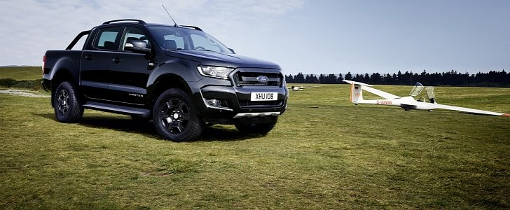 2018 ford ranger black edition limited to 2 500 units. Black Bedroom Furniture Sets. Home Design Ideas