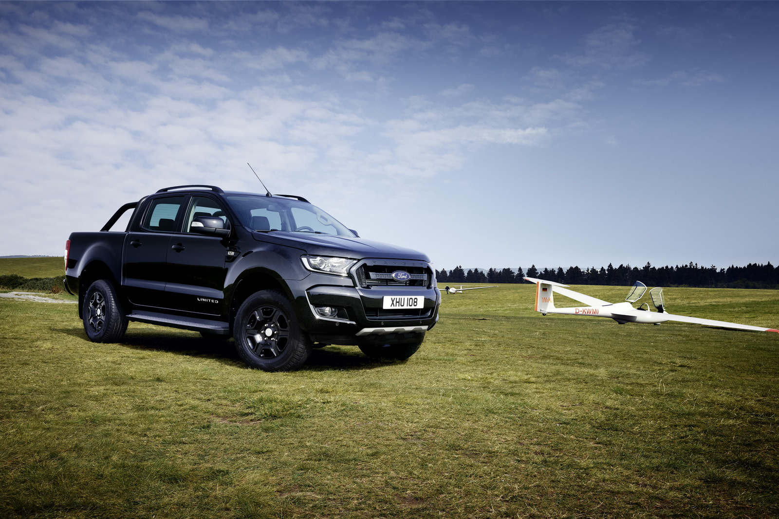 Top 2018 Ford Ranger Black Edition Limited To 2,500 Units - autoevolution ED54