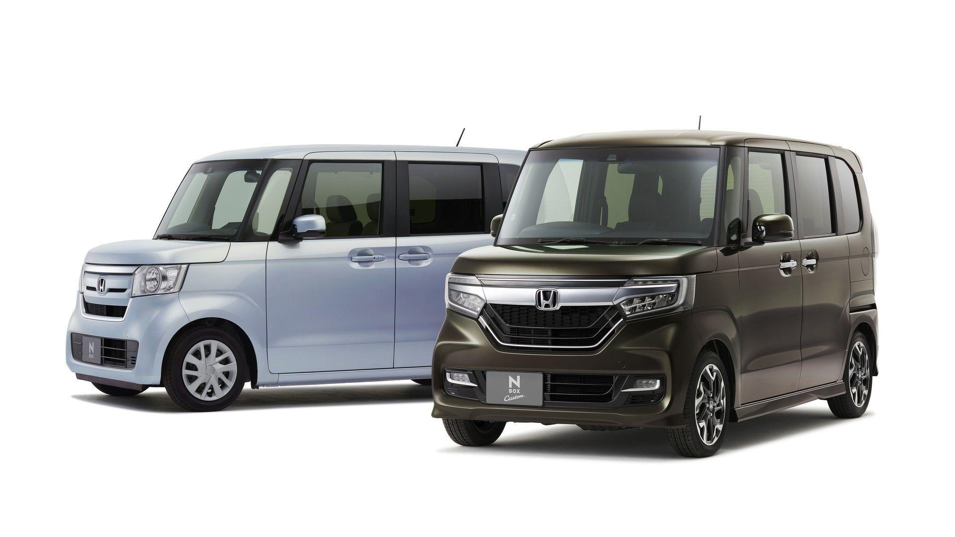 2018 Honda N-Box Is An Unapologetically Boxy Kei Car