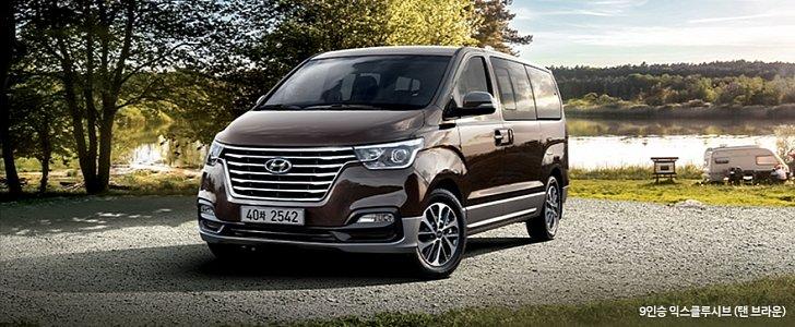 Hyundai Tucson Facelift 2018 >> 2018 Hyundai Grand Starex Facelift Launched In South Korea - autoevolution