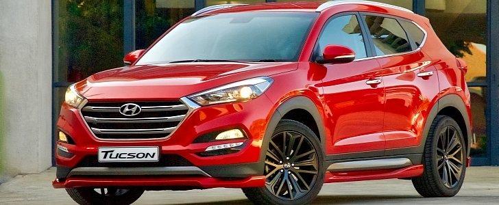 Hyundai I30n >> 2018 Hyundai Tucson Sport Is No Tucson N Sport, But Packs Quite a Punch - autoevolution