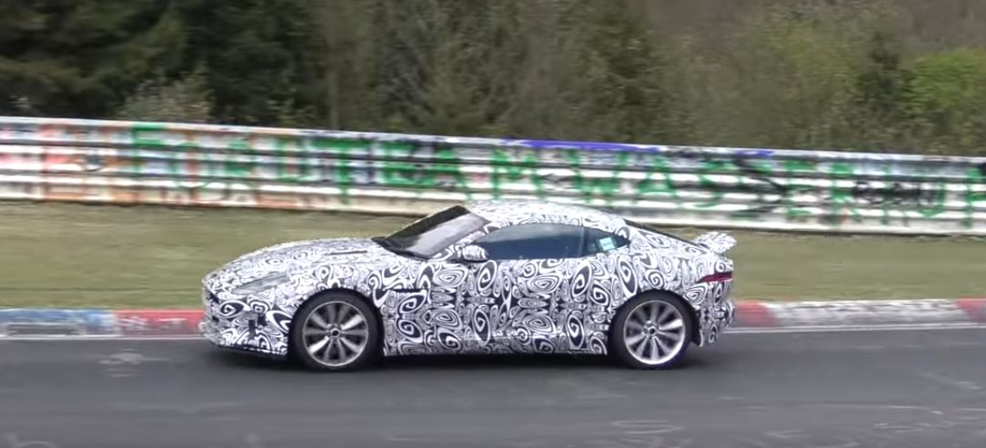 Jaguar FType Brings Cylinder Engine To Nurburgring - 4 cylinder jaguar