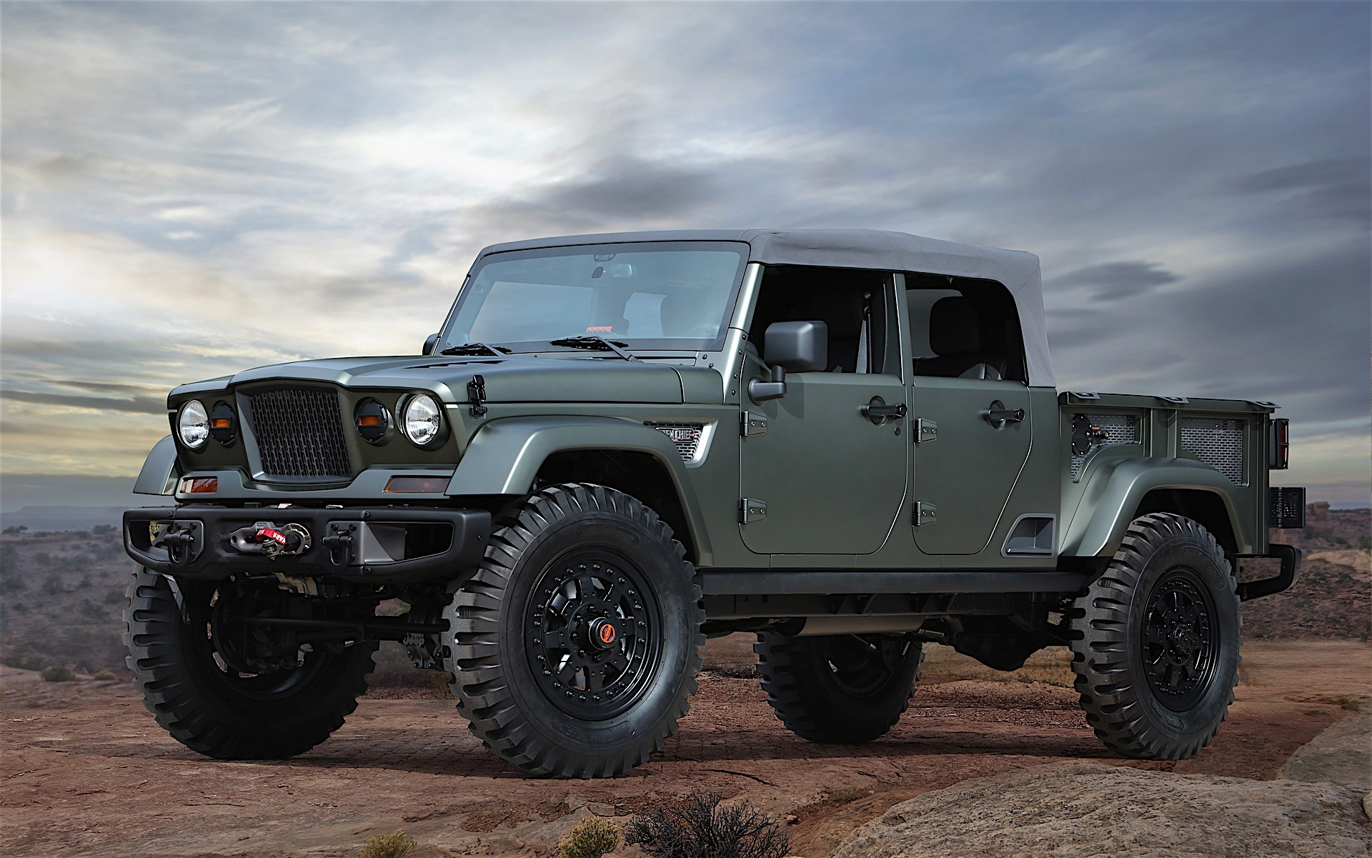2018 Jeep Wrangler Confirmed to Spawn Crew Cab Pickup ...
