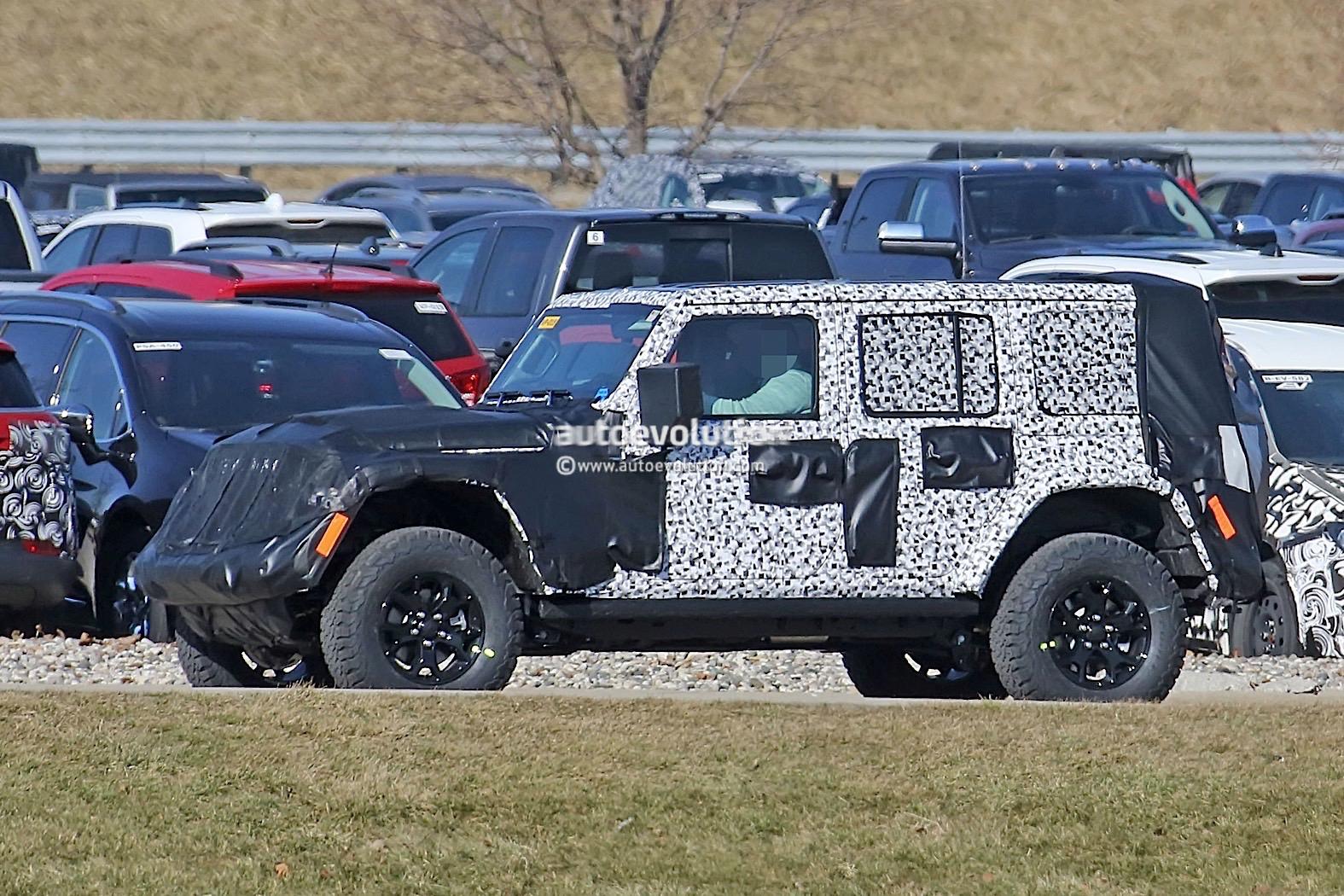 2018 jeep wrangler jl sheds some camo during final testing autoevolution. Black Bedroom Furniture Sets. Home Design Ideas