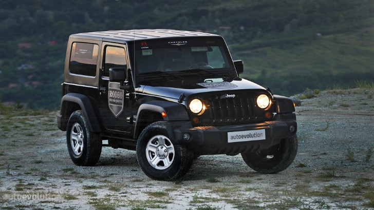 2018 Jeep Wrangler to Go Hybrid for Enhanced Off-Road Capability - autoevolution
