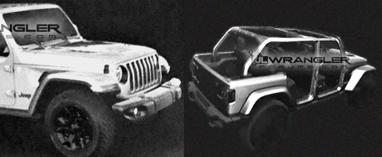11 photos & 2018 JL Wrangler Unlimited Rubicon Leaked Has Fully Removable Roof ...