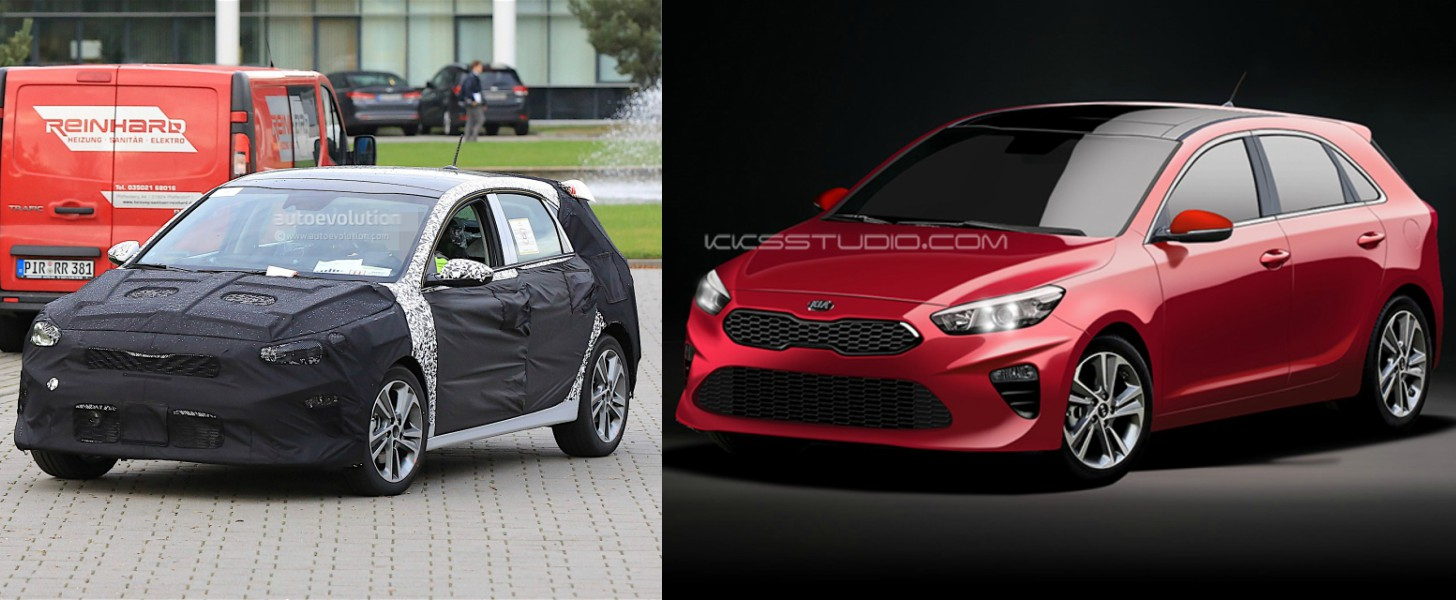 2018 Kia Cee'd Rendered, Looks Just About Right ...