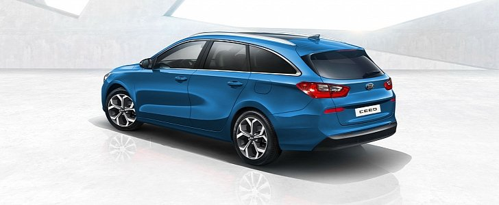 2018 kia ceed sw will join the hatchback at the geneva. Black Bedroom Furniture Sets. Home Design Ideas