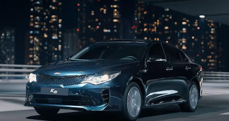 2018 Kia K5 (Optima) Debuts in Korea to Top Gear Season 24 Song ...