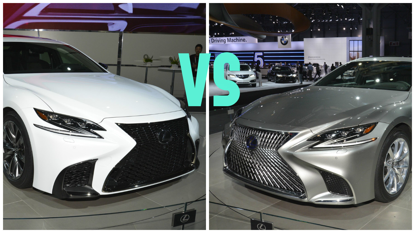 2018 lexus es f sport. interesting sport 2018 lexus ls fsport joins 500h in new york inside lexus es f sport