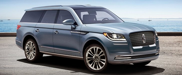 2018 Lincoln Navigator Flagship SUV Might Look Like This