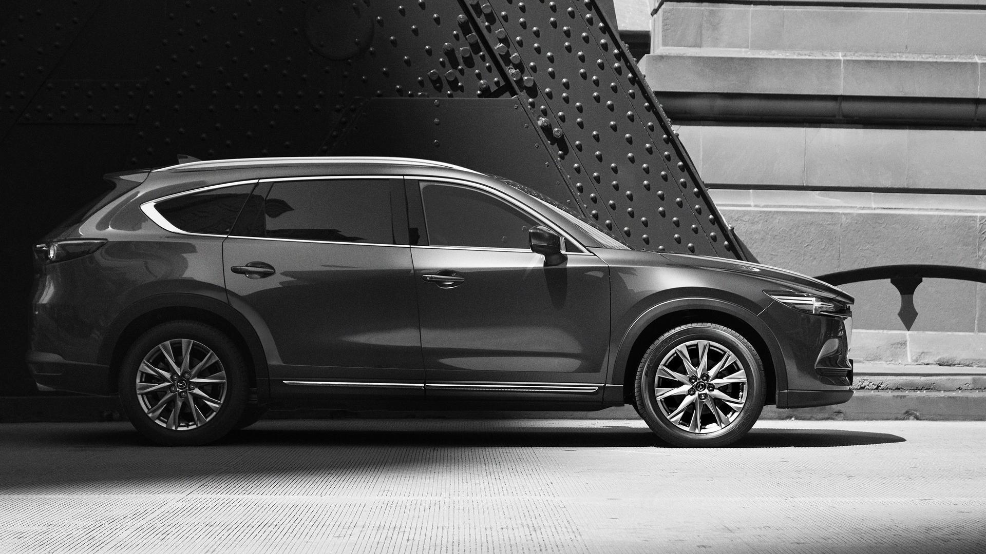 2018 Mazda Cx 8 Teased In Full It S More Cx 9 Than Cx 5 Autoevolution