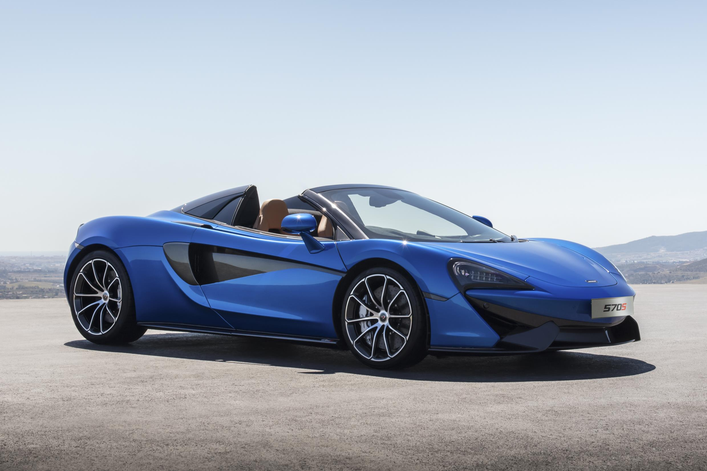 McLaren Goes Topless For Latest 570S Spider Supercar