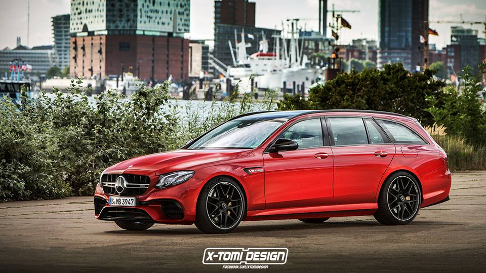 2018 mercedes amg e63 wagon render matches spied prototypes shows game changer autoevolution. Black Bedroom Furniture Sets. Home Design Ideas
