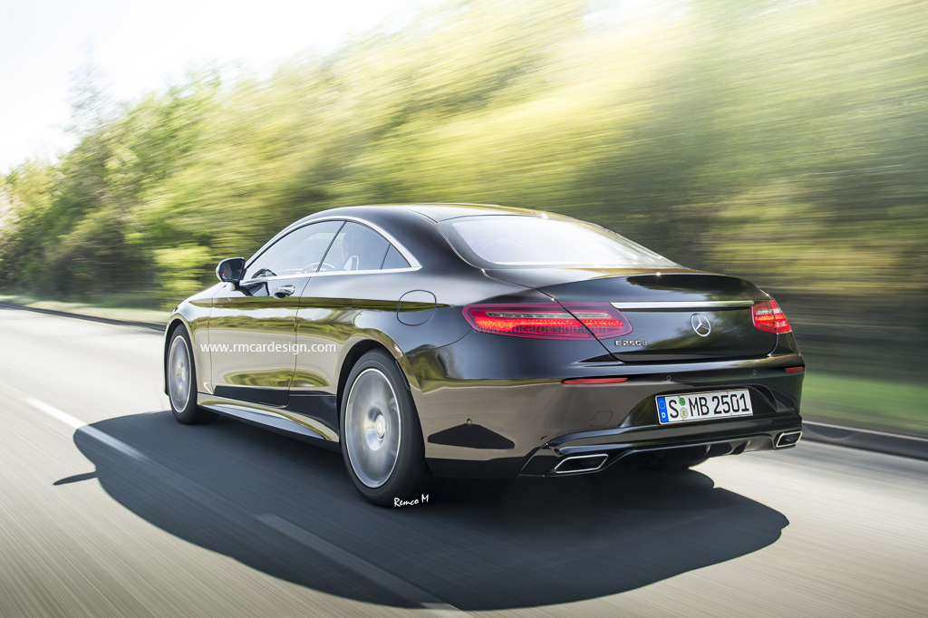 2018 Mercedes-Benz E-Class Coupe Rendering Looks Familiar ...