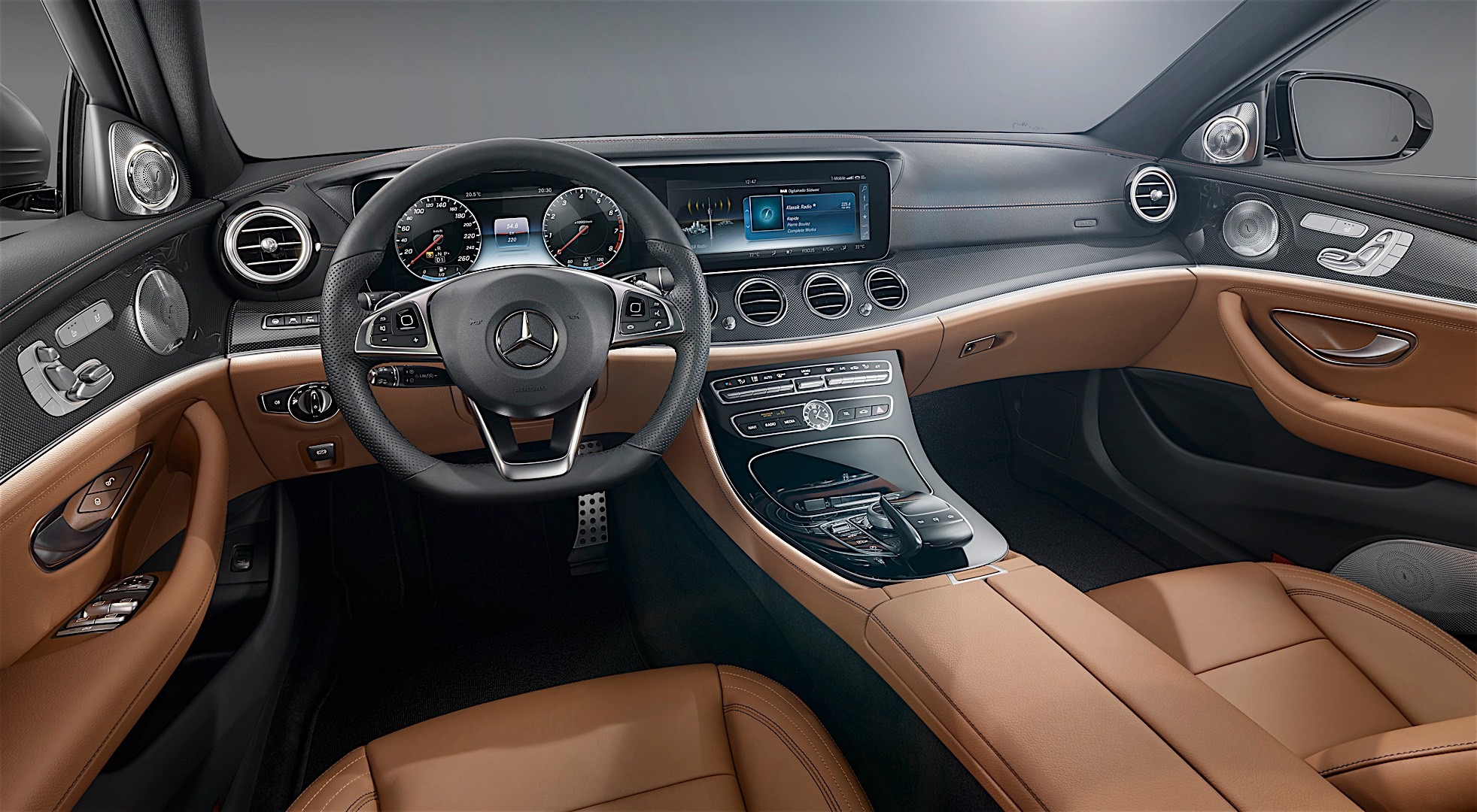 2017 Mercedes Benz E Cl Interior Officially Unveiled Will Rival The S