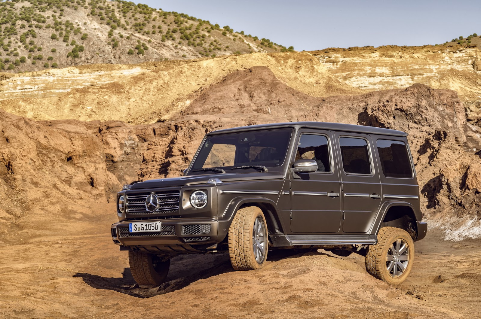 Mercedes-Benz Reveals New Version of Iconic G Class