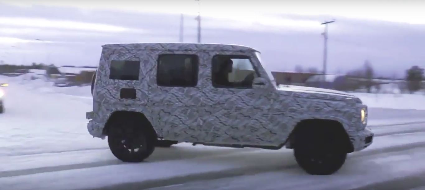 2018 Mercedes G-Class Shows Up in Sweden, Second Generation