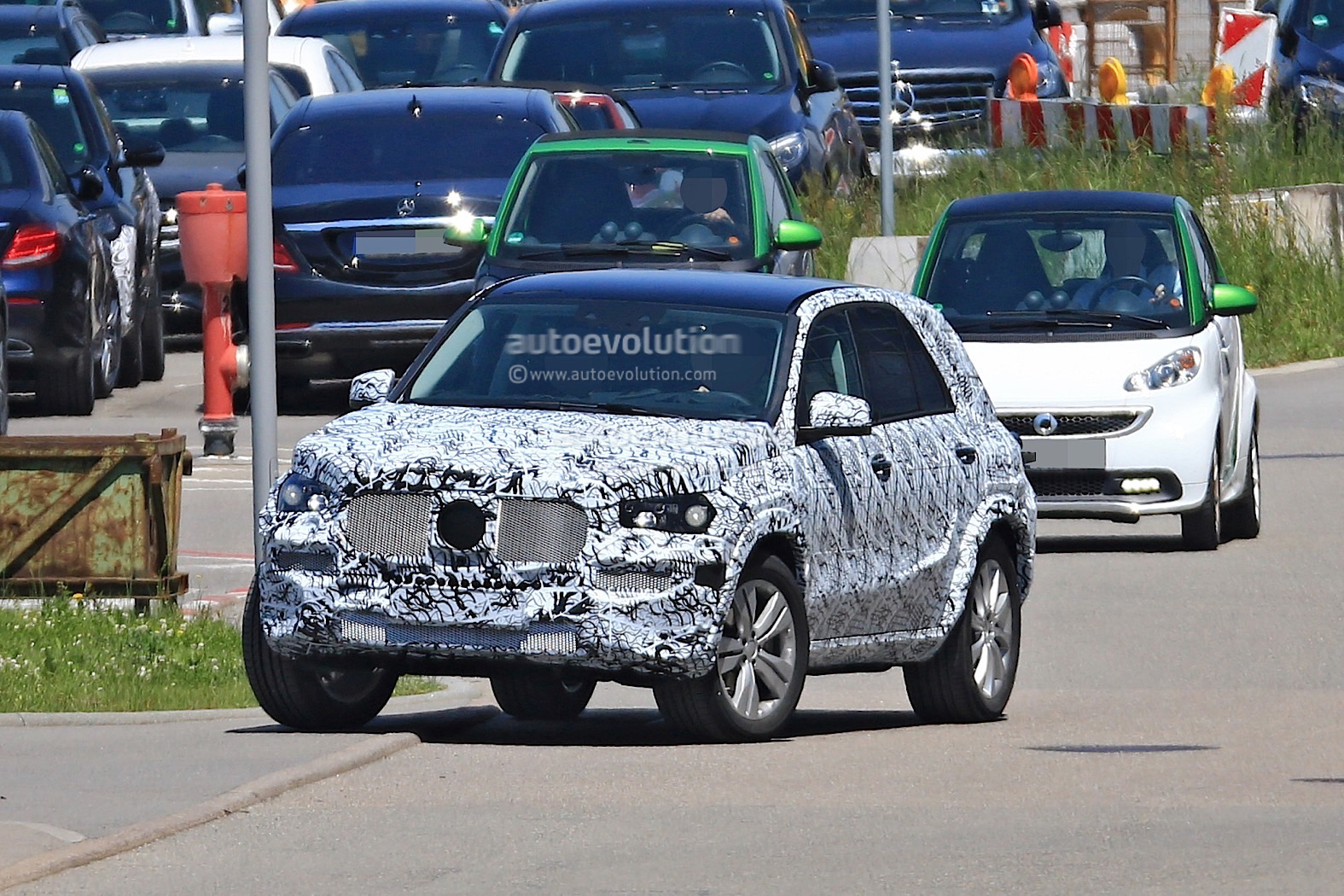 2018 Mercedes-Benz GLB Starts Testing With Production Body - autoevolution