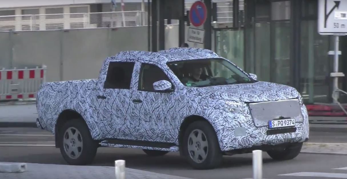 2018 Mercedes Pick Up Truck >> 2018 Mercedes GLT Pickup Gets Closer to Production, to ...