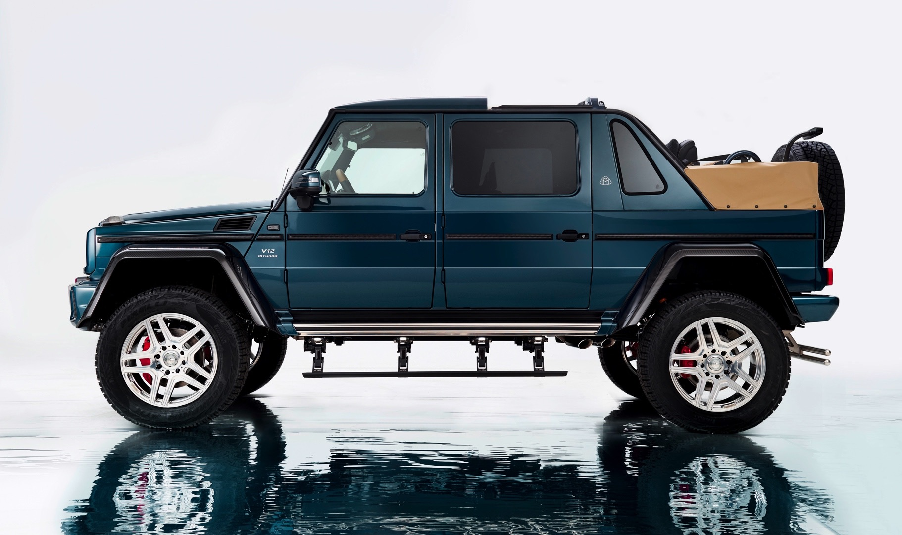 2018 Mercedes-Maybach G650 Landaulet is Strictly Limited ...