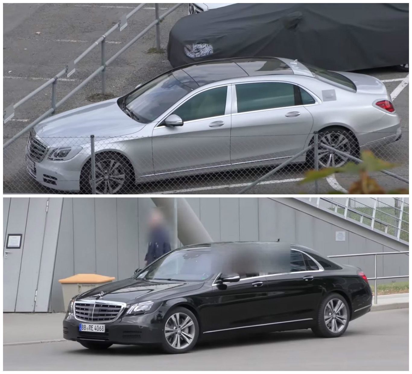 2018 Mercedes-Maybach S-Class Facelift Spied Trying To