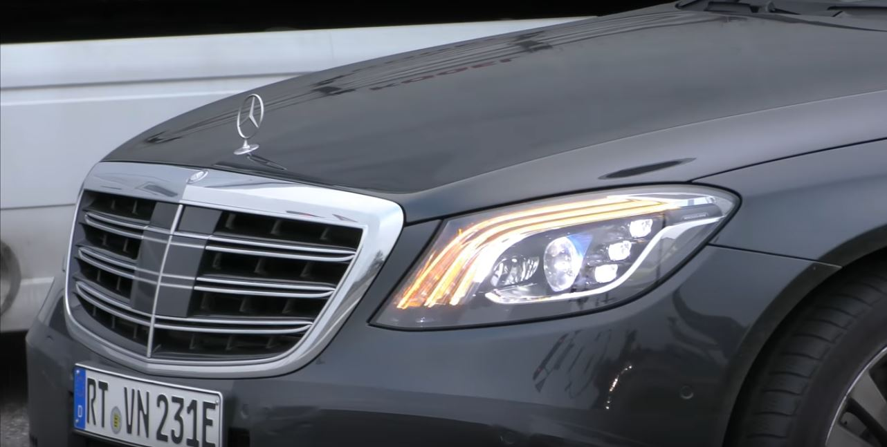 2018 mercedes s class prototype shows production headlights and taillights again autoevolution. Black Bedroom Furniture Sets. Home Design Ideas