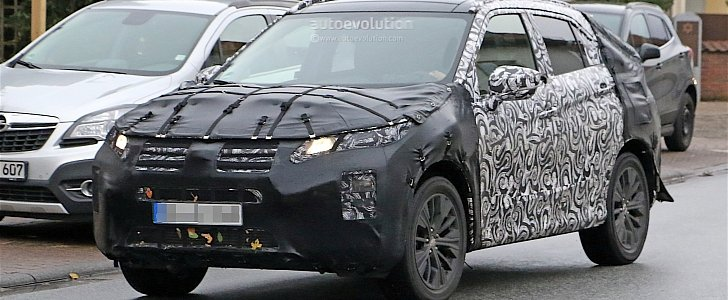 2018 mitsubishi asx spied with a new face autoevolution. Black Bedroom Furniture Sets. Home Design Ideas